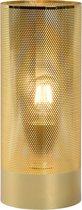 Lucide BELI - Tafellamp - Ø 12 cm - E27 - Messing