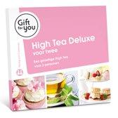 GiftForYou High Tea de luxe voor twee