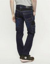 247 Jeans Spijkerbroek Grizzly D30 Donkerblauw - Werkkleding - L34-W36