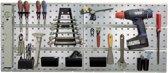 Raaco DIY startpakket superclip,2paneel+22 haken,