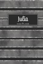 Julia 2020 Planer: A5 Minimalistischer Kalender Terminplaner Jahreskalender Terminkalender Taschenkalender mit Wochen�bersicht