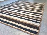 Wollen vloerkleed van hoge kwaliteit - Klassiek en past in elk interieur - Natura 120x170cm