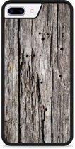 iPhone 7 Plus Hardcase hoesje Oud hout