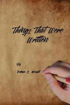 Things That Were Written