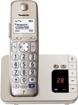 Panasonic KX-TGE220 - Single DECT telefoon - Antwoordapparaat - Wit