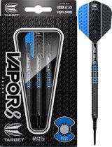 Target Vapor8 80% Black Blue 18g Softtip Darts