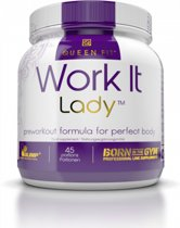 Queen fit Work it Lady preworkout formula for perfect body - BCAA -