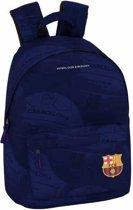 "FC Barcelona Ball - Laptop Rugzak - 14,1"" - 41 cm - Blauw"