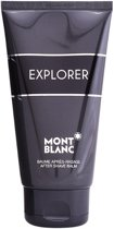 MULTI BUNDEL 4 stuks Montblanc Explorer After Shave Balm 150ml