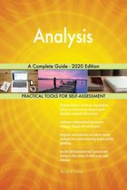 Analysis A Complete Guide - 2020 Edition