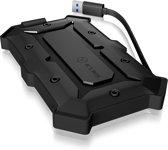 ICY BOX IB-276U3 2.5'' HDD-/SSD-behuizing Zwart