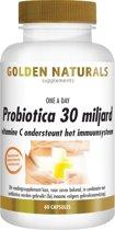 Golden Naturals Probiotica 30 miljard - 60 capsules - Voedingssupplement - Probiotica