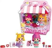 Pinypon Samen winkelen - Speelfigurenset