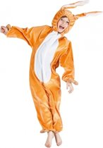 Bruin hazen kostuum voor kinderen 116