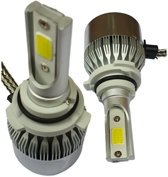 HB4 9006 koplamp set | 2x LED COB xenon wit 6000K | 8-48V