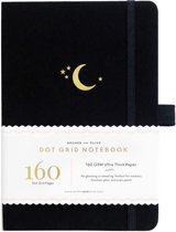Archer & Olive Notitieboek A5 Dotted - Crescent Moon