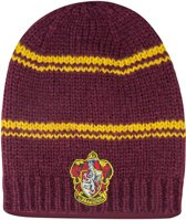 Long Slouchy Gryffindor Beanie Purple and Gold - Harry Potter