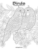 Birds Coloring Book for Grown-Ups 1 & 2