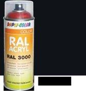 Motip Dupli-Color Spuitbus Acryl Hoogglans - RAL 9017 Verkeerszwart