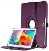 Paarse 360 graden draaibare tablethoes Galaxy Tab 4 10.1