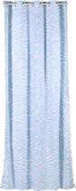 Kidsdepot gordijn Zebra blue 140x275 cm