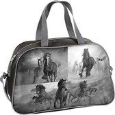 Animal Pictures Paarden - Schoudertas - 40 cm - Grijs