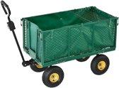 Transportwagen / tuinwagen met afneembare zijkanten