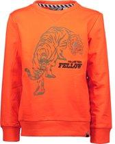 Moodstreet Jongens Sweater - Orange - Maat 110/116