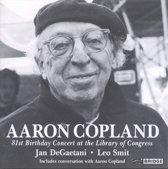 Aaron Copland - The 81st Birthday Concert / DeGaetani, Smit