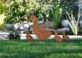Gazon steker Gazonsteker tuinsteker  eendenfamilie