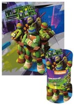 Ninja Turtles fleecedeken | plaid 140x120cm