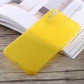 0,3 mm Ultradun Frosted PP-hoesje voor iPhone XR (geel)