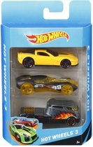 Hot Wheels Cadeauset 3 Auto's