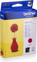 Brother LC121 - Inktcartridge / Magenta