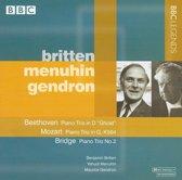 Beethoven, Mozart, Bridge: Piano Trios
