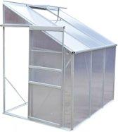 vidaXL - Tuinhuisje Tuinkas polycarbonaat 3.5 m² (muurkas)