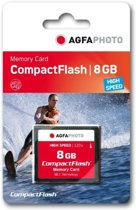 AgfaPhoto Compact Flash 8GB High Speed 120x MLC