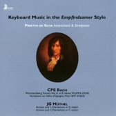 Keyboard Music In The Empfindsamer Style