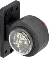 Carpoint Breedtelicht 10-30 Volt Led 72 Mm Links Rood/wit