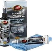 Autosol Koplamp polijst- & beschermingsset