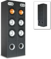 Fenton SHFT655B HiFi / Home cinema zuil luidsprekers, set van 2 stuks - Zwart