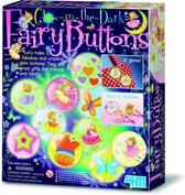 4M Crea Fairy Buttons Lichtgevend