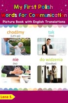 My First Polish Words for Communication Picture Book with English Translations