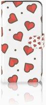 Samsung Galaxy E7 Boekhoesje Design Hearts