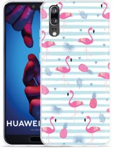 Huawei P20 Hoesje Flamingo Ananas