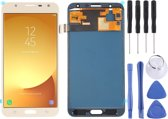 Let op type!! LCD-scherm en digitizer volledige assemblage (TFT-materiaal) voor Galaxy J7 Neo  J701F/DS  J701M (goud)