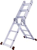 """""""HERZBERG"""" Multi-functionele Vouwladder - 4 x 3 sporten"""