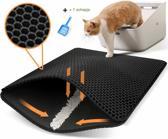 Kattenbak mat + een gratis schepje - Katten grit o