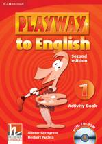 Playway to English - second edition 1 activity book + cd-rom