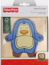 Pz. Fisher Price Holz Pinguin 6T.